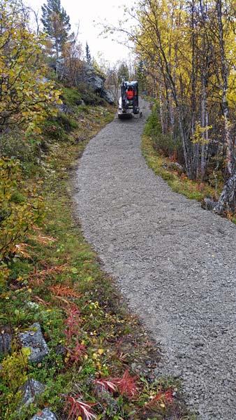 Graving og massetransport på Beitostølen og i Valdres